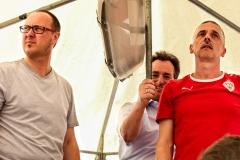 Dieter, Jürgen und Rene