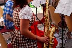 Eröffnung der Hocketse durch das Orchester