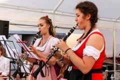 Bonnie und Melanie spielen Clarinando